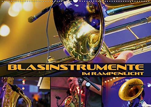 Blasinstrumente im Rampenlicht (Wandkalender 2021 DIN A2 quer)