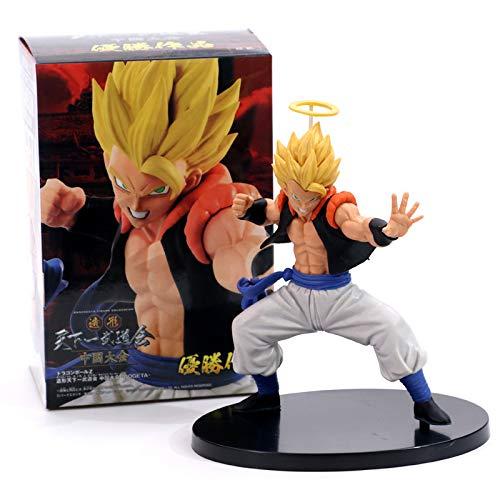 Anime Dragon Ball Z - Vegeta Son Goku Fusion Gogeta Super Saiyan Action Figure PVC DBZ Model Toy image