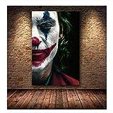 mmzki Hollywood Joaquin Phoenix Poster Drucke Joker Poster Film Comic Kunst Leinwand Ölgemälde...