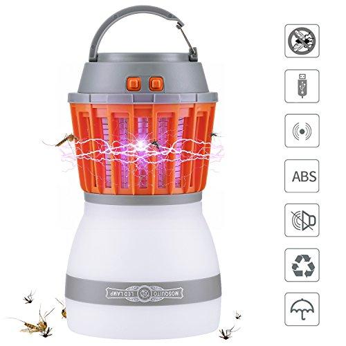 Lámpara Antimosquitos, Qcoqce IPX67...