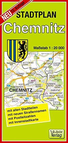Stadtplan Chemnitz: Maßstab 1:20000