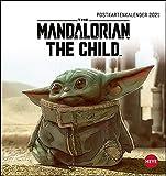 The Mandalorian Postkartenkalender 2021 - Kalender mit perforierten Postkarten - zum Aufstellen und Aufhängen - mit Monatskalendarium - Format 16 x 17 cm