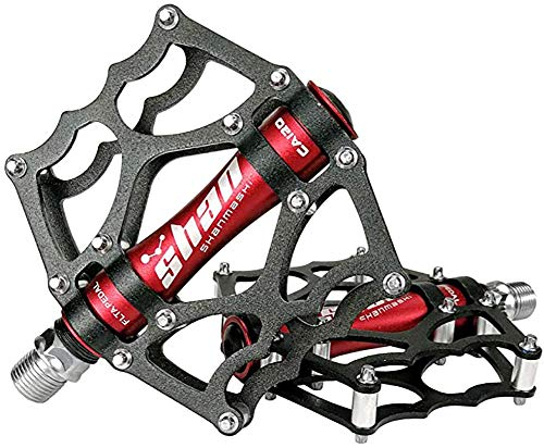 Cross-country mountainbike slip pedaal pedaal, fiets pedaal nieuwe metaal-legering materiaal sterk stevig en comfortabel dragen aangepaste treeplank