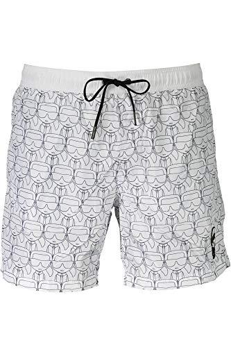 KARL LAGERFELD Medium Boardshort Carry Over - White