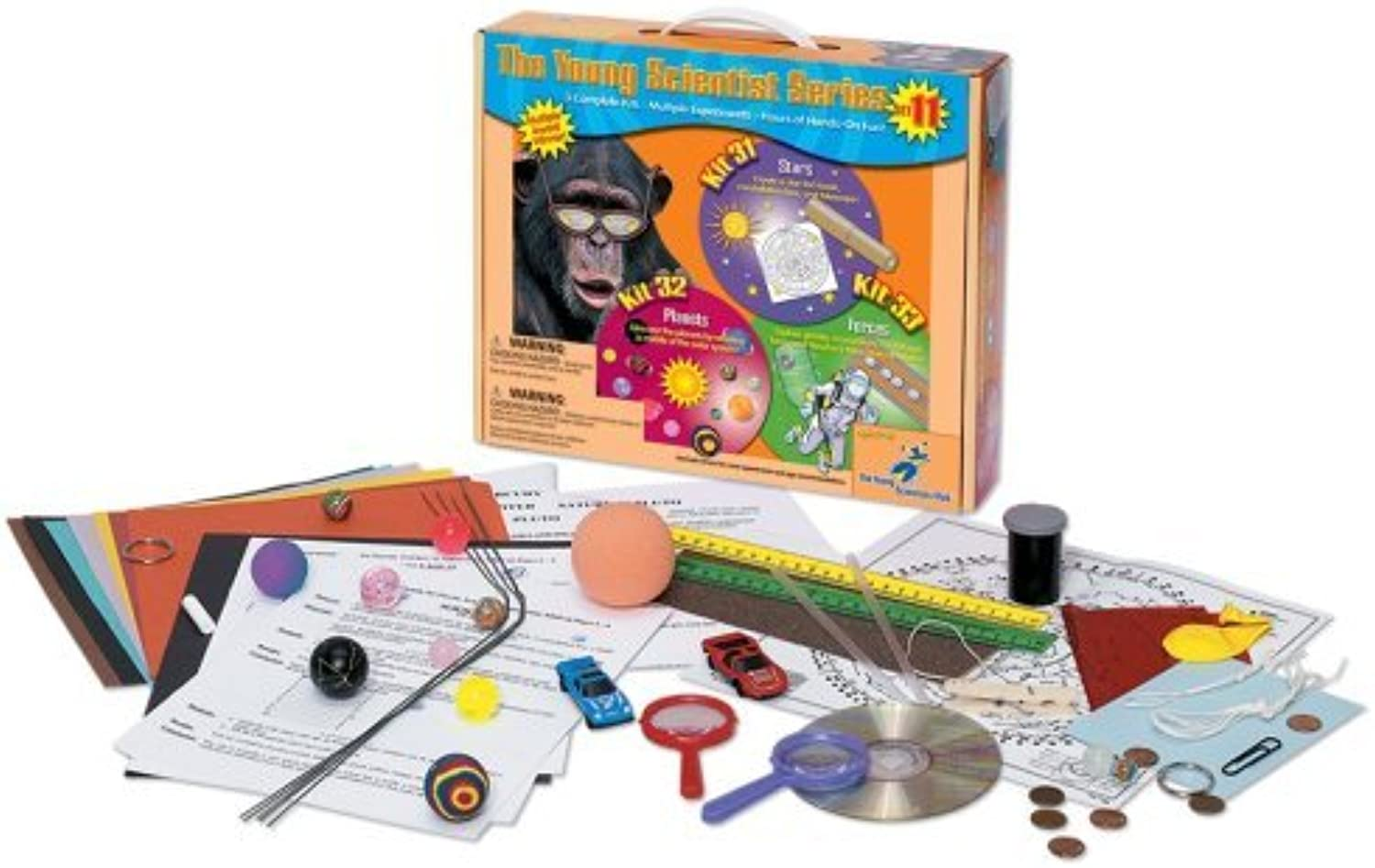 promociones de equipo Young Scientist Series - Set 11  Estrellas Estrellas Estrellas (Kit 31) - Planets (Kit 32) - Forces (Kit 33) by The Young Scientists Club  forma única