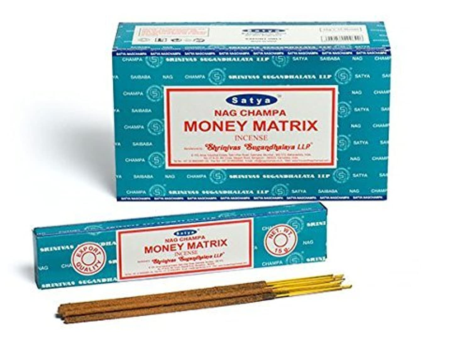 恩恵コーラスアームストロングBuycrafty Satya Champa Money Matrix Incense Stick,180 Grams Box (15g x 12 Boxes)