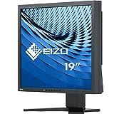 EIZO FlexScan S1934H-BK 48 cm (19 Zoll) Monitor (DVI-D, D-Sub, DisplayPort, 14 ms Reaktionszeit, Auflösung 1280 x 1024) schwarz