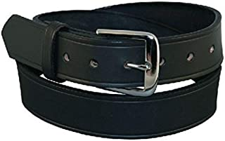Men's Big & Tall Leather 1 1/2 Inch Off Duty Belt