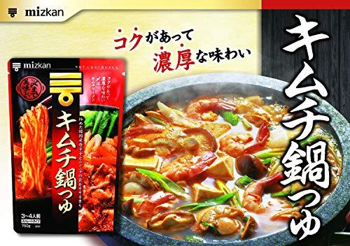 ミツカン〆まで美味しいキムチ鍋つゆストレート750g×4個