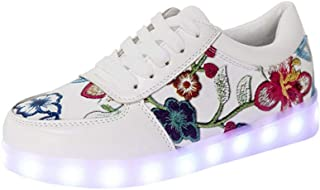 Christmas Gifts Unisex LED Light up Shoes Fashion Flashing Sneakers for Kids Girls Boys