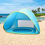 NEQUARE Baby Beach Tent Pop Up Tent Baby Beach Pool Sun Shelter UV Protection Beach Shade for Baby...