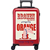 Equipaje Lyl Maleta Ligera de la Maleta TSA Lock PC Funda rígida de la Bolsa de Viaje Carry on Luggage Mano con Las...