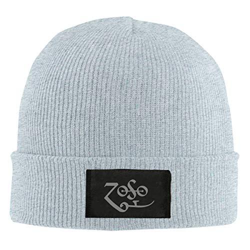 ZOSO Unisex Retro Beanie Hat Knitted Soft Cap