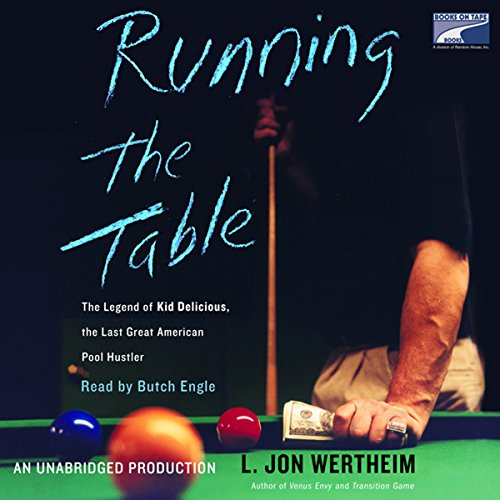 Running the Table audiobook cover art