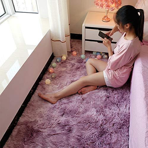 LXSHMF Teppich für den Innenbereich, modern, zottelig, superweiches Fell, flauschiger Teppich,...