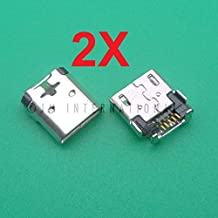 ePartSolution_2X Micro USB Charger Charging Port Dock Connector USB Port for Nokia Lumia 520 530 550 620 630 635 640 XL 730 735 Replacement Part USA
