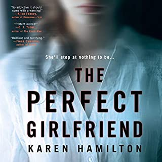 The Perfect Girlfriend audiobook cover art