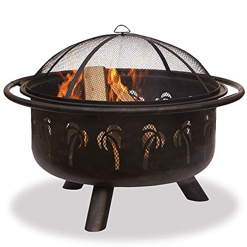 Best Review Of Bronze 32-inch Firebowl Metal