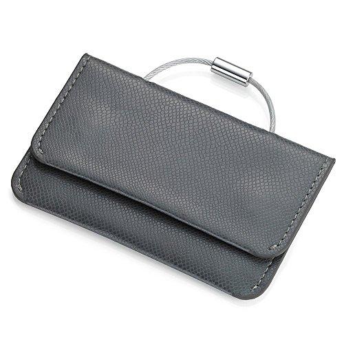 Troika - Porta carte di credito, Grey/Red (rosso) - CCP16/GY