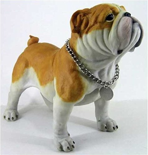 Retired C & F Trading Co. Standing Bulldog Puppy Figurine