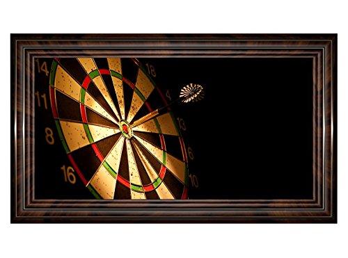 3D Wandtattoo Sport Dart Pfeil Dartscheibe Bild selbstklebend Wandbild sticker Wohnzimmer Wand Aufkleber 11H1169, Wandbild Größe F:ca. 140cmx82cm
