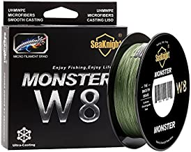 Enature Braided Fishing Line - Advanced 8 Strand Braided Fishing Line for Maximum Casting Distance & Durability for Saltwater & Fresh Water Surf Fishing, Bass Fishing, Fly Fishing (300, 100lb)