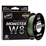 Enature Braided Fishing Line - Advanced 8 Strand Braided Fishing Line for Maximum Casting Distance & Durability for Saltwater & Fresh Water Surf Fishing, Bass Fishing, Fly Fishing (500, 80lb)