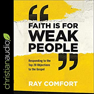 Faith Is for Weak People audiobook cover art