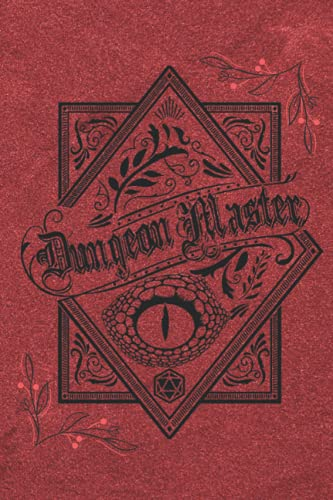 Dungeon Master Notebook: Role Playing Journal with Mixed Paper – Single Lined, Hex, Dotted and Graph– for Note Taking, Mapping, Quest/Story Tracking, Terrain Design and Plans