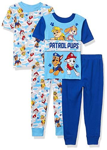 Nickelodeon Paw Patrol – Pijama de 4 Piezas para niños, Patrol Friends, 2 Años