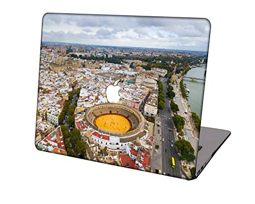 Laptop Case for Newest MacBook Pro 15 inch Model A1707/A1990,Neo-wows Plastic Ultra Slim Light Hard Shell Cover Compatible Macbook Pro 15 inch,Sky Series 0852