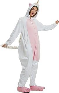 296791c180d31 Pyjama Licorne Enfant Onesies Combinaison Animaux Pyjamas Femme Homme Animé  Animal Costume Cosplay Hauteur de 90cm