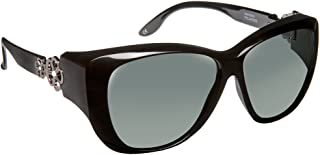 cdd68e7fd1 Haven Fitover Sunglasses Manhattan in Black   Polarized Grey Lens