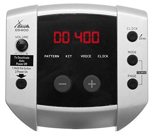 XDrum DD-400 Batteria elettronica digitale cuffie sgabello bacchette