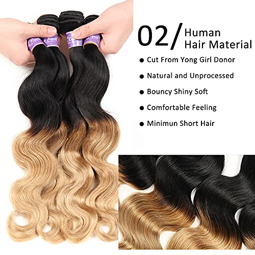 Cheap blonde human hair weave _image4