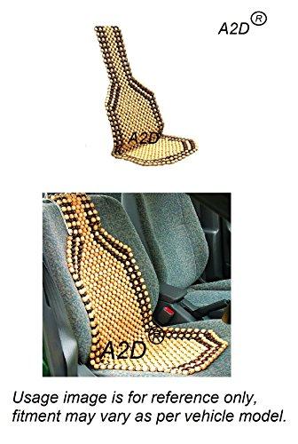 A2D Premium Car Wooden Bead Seat Cover for Maruti Suzuki Baleno