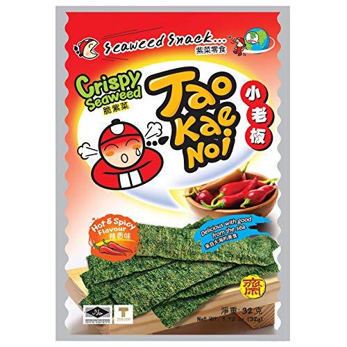 TAO KAE NOI Hola tempura Algas - paquete resellable 40g picante