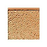 FASÄDE Hammered Decorative Vinyl Backsplash Panel in Polished Copper (6X6 Inch Sample)