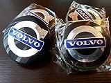 Tapas de Cubo de Cubierta Central de Rueda de Coche para Volvo C30, C70, S40, V50, S60, V60, V70, S80, XC90, Accesorios de Estilo de Coche, 64 MM, 4 Piezas