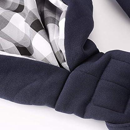 CUBY Carrier Sling Dog Small Dog Cat Sling Pet Sling Backpack Single Shoulder Pet Bag for Travel Dog Carrier Bag (Blue) 6
