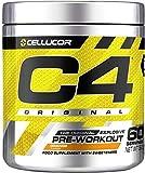 C4 Original - Suplemento en polvo para preentrenamiento - Naranja | Bebida energética para antes de entrenar | 150mg de cafeína + beta...