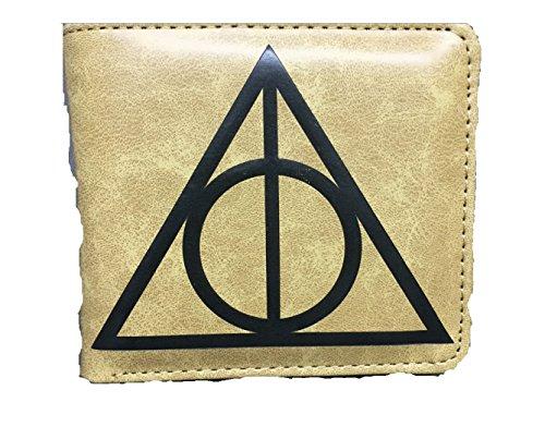 Harry Potter Heiligtümer des Todes Deathly Hallows Portemonnaie Geldbörse, beige