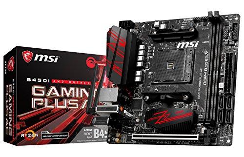 msi Scheda Madre Mini-ITX Gaming Plus AMD B450 DDR4-SDRAM
