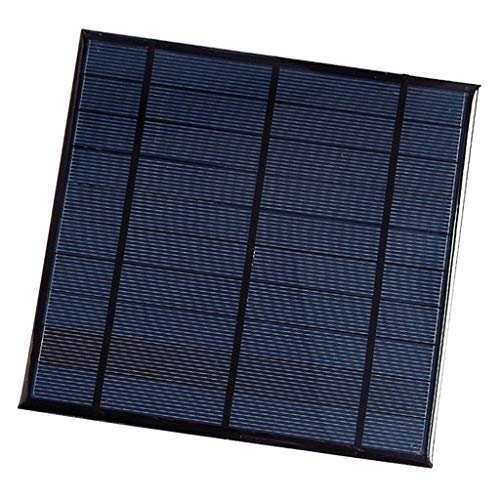 MagiDeal Caja de Generador de Panel Solar Policristalino Celda Solar 5V 4.5W para Lámpara de Césped, Luces de Jardín, Farolas, Semáforo