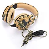 Gaming Headset, Head-Mounted Computer Gaming Headphone,PC Gaming Headphones with Noise Canceling Mic