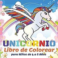 Unicornio Libro de Colorear para Niños de 4 a 8 Años: 50 Hermosos Unicornios, Libros para Colorear para Niños Niñas - Regalo de Libro para Colorear para Niños