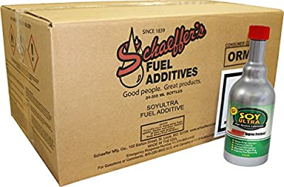 Schaeffer Manufacturing Co. 0131C-021 SoyUltra Gasoline Additive, 12oz (Pack of 24)