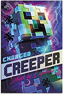 Minecraft Charged Creeper Poster Maxi - 91.5 x 61cms (36 x 24 Inches)