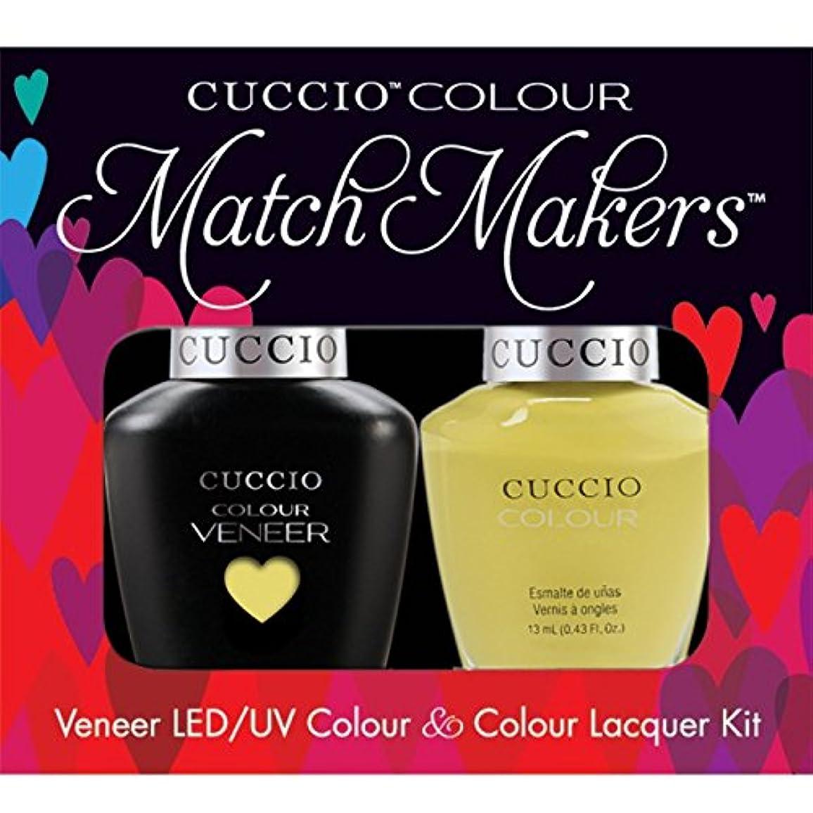 バイアスまたサーキュレーションCuccio MatchMakers Veneer & Lacquer - Good Vibrations - 0.43oz / 13ml Each