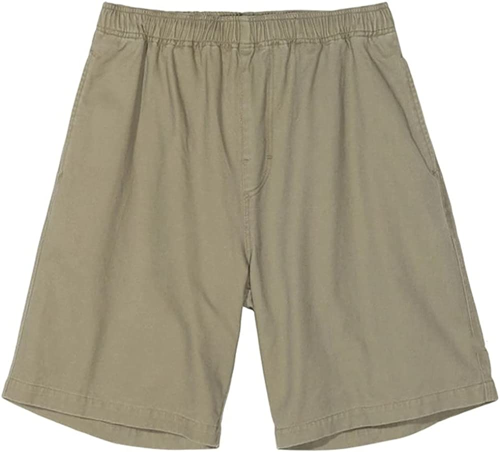NP Men's Color Casual Summer Shorts Street Sports Male Clothing Waist